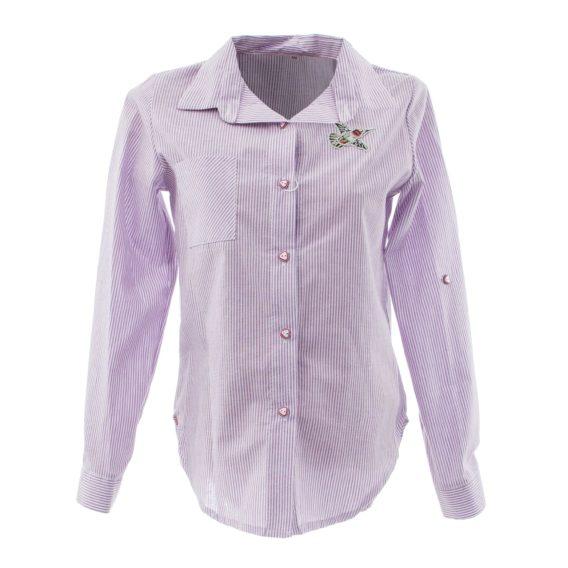 Блуза для девочки «Колибри» 171104 сиреневая (7-12 лет)